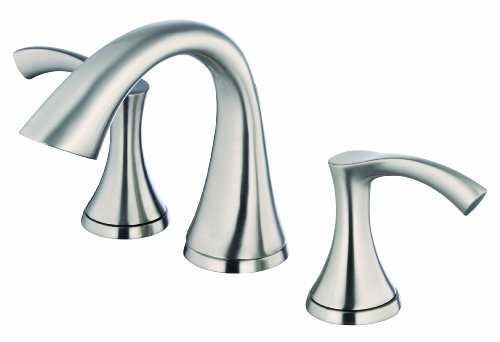 Danze D304022BN Antioch Two Handle Widespread Lavatory Faucet, Brushed Nickel by Danze
