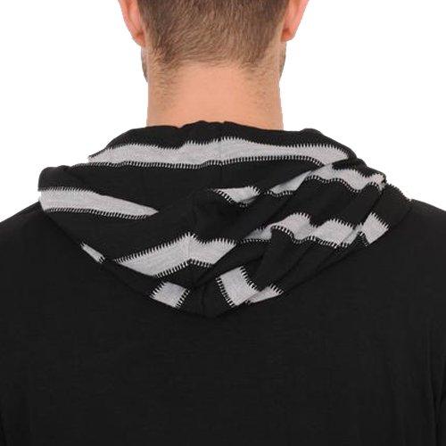 Gentleman Label Mens Modern Stripe Hoodie Pullover