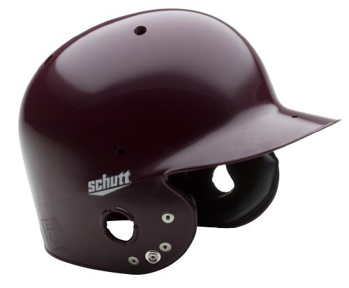 Schutt Sports AiR-Pro Maxx T Softball Batter's Helmet, Maroon, Medium ()