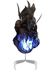 Floating Fireball Prop,Halloween Home Decoration Luminous Floating Fireball Exquisite Ornaments,for Cosplay,Convention,Halloween Party Décor, Floating Fireball Prop Party-Black