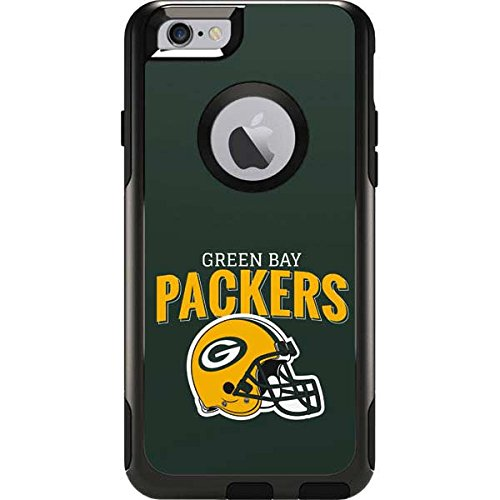 (Skinit Green Bay Packers Helmet OtterBox Commuter iPhone 6 Skin for CASE - Officially Licensed NFL Skin for Popular Cases Decal - Ultra Thin, Lightweight Vinyl Decal Protection)
