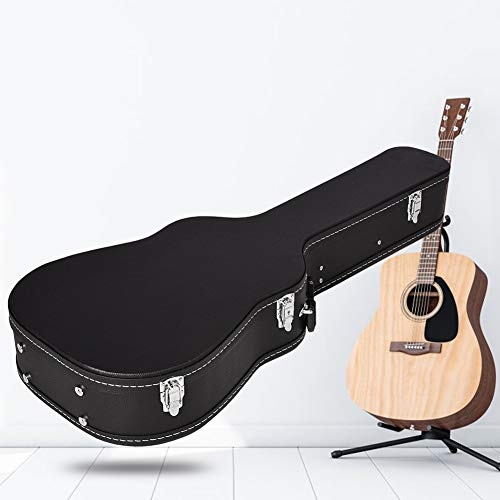 41in Acoustic Guitar Carry Bag Guitar Carry Case with Long Velvet Gray Liner for Acoustic Guitar