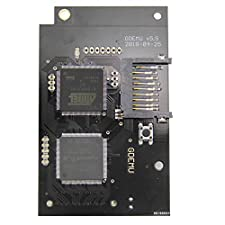 Optical Drive Simulation Board for DC Game Machine Analog Dreamcast, Durable Quick Reading Speed Reading (Black)