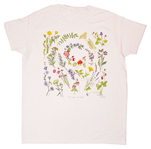 Liberty Graphics Beneficial Herbs Adult Ladies T-Shirt White Small (Herb Shirt)