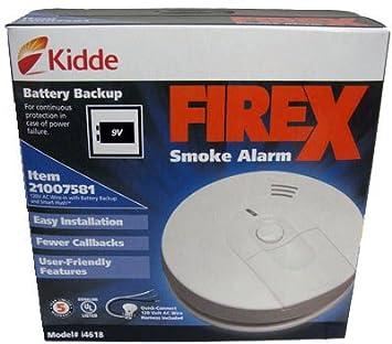 Kidde 21007581 120 V Wire-In Smoke Alarm