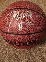 25cb64722 John Wall Autographed Spalding Nba Elevation I O Basketball JSA Authentic