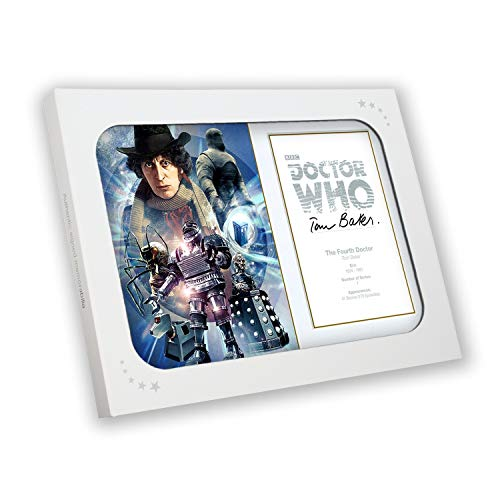 Tom Baker Signed Dr Who Poster In Gift Box from Exclusive Memorabilia