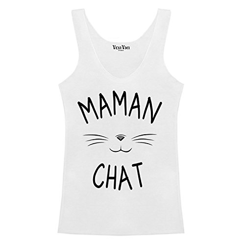 Veni Vici - Camiseta sin mangas - para mujer blanco