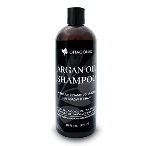 Hair Growth Shampoo Hair Loss Prevention Therapy ALL NATURAL Thickening For Thinning Hair Treatment by Oragonix plus