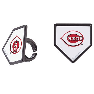 MLB Cincinnati Reds Cupcake Rings - 24 ct