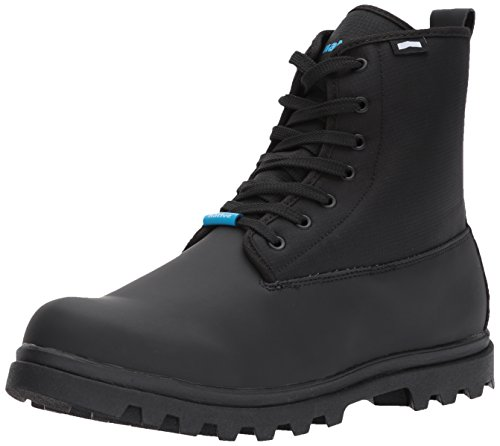 Native Men's Johnny Treklite Rain Boot, Jiffy Black/Jiffy Black, 7 M US