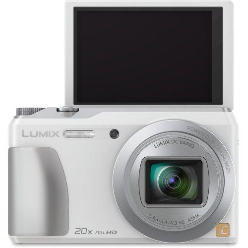 (Panasonic DMC-ZS35W Digital Camera with 3.0-Inch TFT LCD (White) )