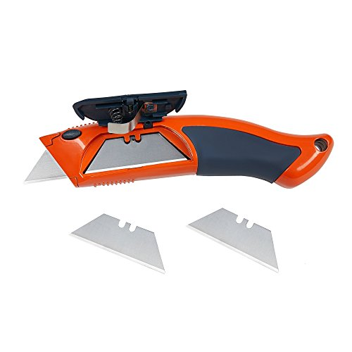 Presch juego 7 cutters profesionales con 10 cuchillas partibles - universal para cartón, alfombras, manualidades: Amazon.es: Bricolaje y herramientas