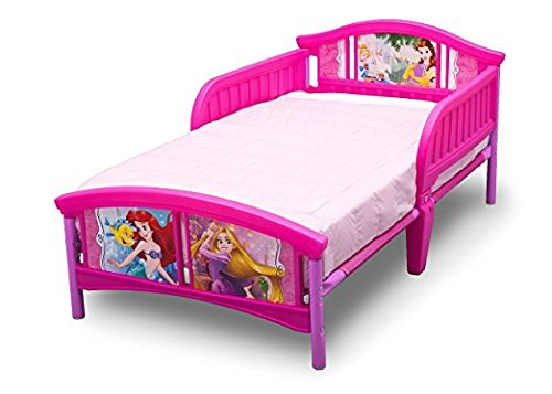 Amazon.com : Disney Pretty Princess Toddler Bed, 4 Piece