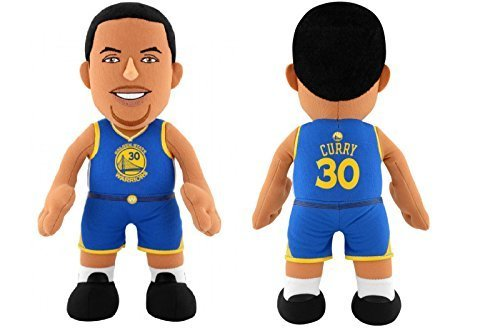 "Steph Curry Golden State Warriors Road Jersey 10"" Plush Figure bleacher creature"