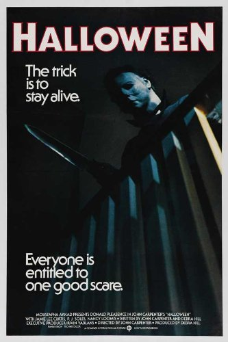 Halloween 1978 Movie Poster.The Gore Store Halloween 1978 Movie Poster 24x36