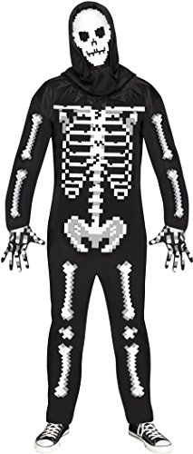 Game Over Guy Adult Costume, (Guys Skeleton Costumes)