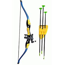 Starmark LMI-29-42 XWIN Sport Series Cross Bow and Arrow-Kids Archery Set with Target Outdoor Game Age 3+