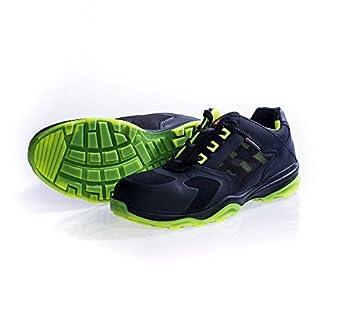 Heckel Zapatos bajos de seguridad RUN-R Edición ACE S1P libre de metal, extremadamente ligera, div. mod. Gr - Green, 43: Amazon.es: Amazon.es