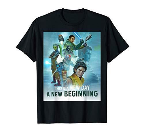 - Star Wars Celebration Mural Rebels Series New Day T-Shirt