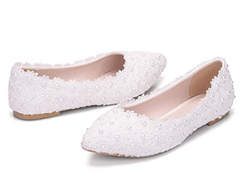 MGM Sandales 5 Joymod Blanc Compensées 36 Femme Blanc wPRqxw