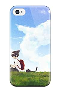 Jairo Guzman's Shop New Style 9296644K322174622 animal ears miko torii Anime Pop Culture Hard Plastic iPhone 4/4s cases