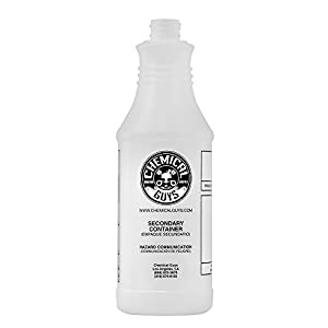 Chemical Guys ACC_130 Professional Chemical Resistant Heavy Duty Bottle and Sprayer (32 oz)