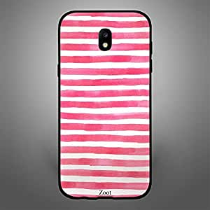 Samsung Galaxy J5 2017 Pink White stripes