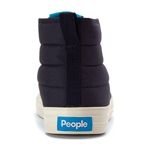 Persone Calzatura Phillips Puffy Uomo Punta Rotonda Sintetico Blu Chukka Stivale Paddington Blu / Picchetto Bianco