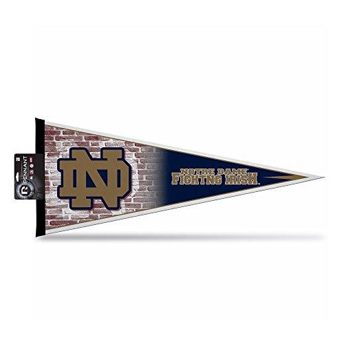 NCAA Notre Dame Fighting Irish Pennant Flag Header, 12 x 30-