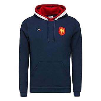 bad46f3abdc Le Coq Sportif Sweat A Capuche FFR Taille   XXXL  Amazon.fr ...