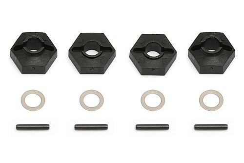 (Team Associated 7497 B4 Wheel Hex Adapters )