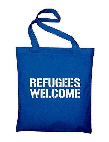 Blue Purse Cotton Bag Bag Jute yellow 2 Royal Styletex23tbbag2ref8 nbsp;refugees Welcome Yellow TIwqASP