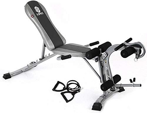 Donghechengkang 多機能腹筋台ダンベルベンチ強力腹板多機能ウェイトベンチ