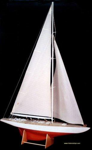 (Amati Yacht Rainbow Carved Hull Ship Model Kit)
