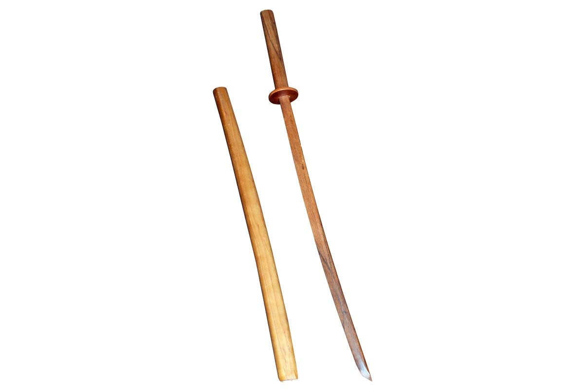Cimac Martial Arts Bokken With Scabbard ( Size : 40) ( Wood Type : Red Oak) HealthCentre