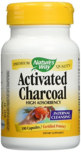 Nature's Way Activated Charcoal Supplement, 200 Count