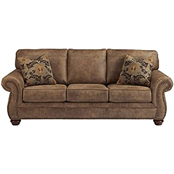 Amazon Klaussner Heights Sofa Brown Kitchen & Dining