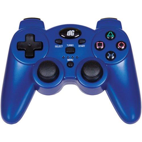 PLAYSTATION(R)3 RADIUM WIRELESS CONTROLLER (METALLIC BLUE) (Catalog Category: VIDEO GAME ACCESS / VIDEO GAME ACCESSORIES) (Metallic Blue Ps3 Controller)
