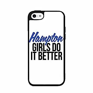 Hampton Girls Do It Better pc pc SILICONE Phone Case Back Cover iPhone 5c