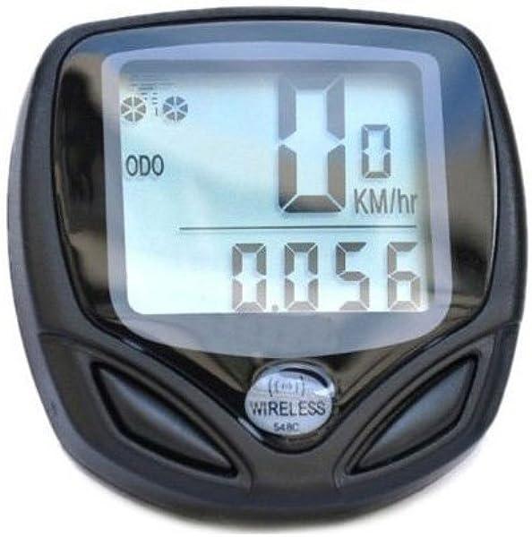 Sodial Speedo - Cuentakilómetros inalámbrico para bicicletas ...