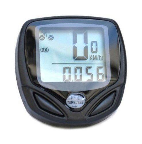 SODIAL(TM) Wireless Bike Computer Speedo Odometer Average Speed Maximum Speed Cycle Bicycle 001208