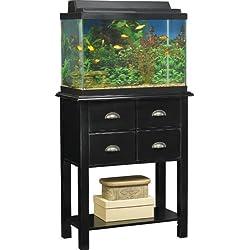 Altra 80496 Aquarium Stand, 20-Gallon, Black