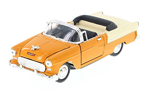 Sunnyside 1955 Chevy Bel-Air Convertible, Tan 5720D - 1/34 Scale Diecast Model Toy Car but NO BOX ()