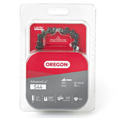 Oregon S44 AdvanceCut 12-Inch Chainsaw Chain, Fits Echo, McCulloch, Stihl (Beaver Blade 12)