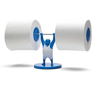 Amazon Com Mr T Dual Toilet Paper Holder Dispenser Free