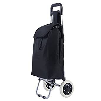 Giantex Shopping Trolley Dolly Grocery Cart Foldable W/Rolling Wheels Push  Bag Condo Apartment Picnic Beach Travel Portable Folding Push Pull Grocery  ...