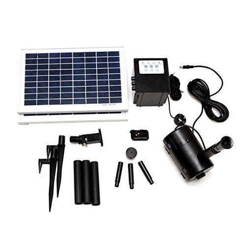 Lucent 16 Watt Solar Power Panel Kit Water Pump Fountain ...