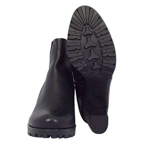 Stivaletti Calista Black Nero Mid Moderna In Heel Gabor nHUTxn