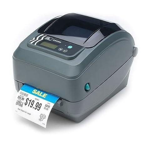 Zebra GX420t - Impresora de Etiquetas (203 dpi, RS232/USB ...